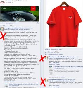 Carsystem muss Facebook-Spam bzw. Anfragen bearbeiten