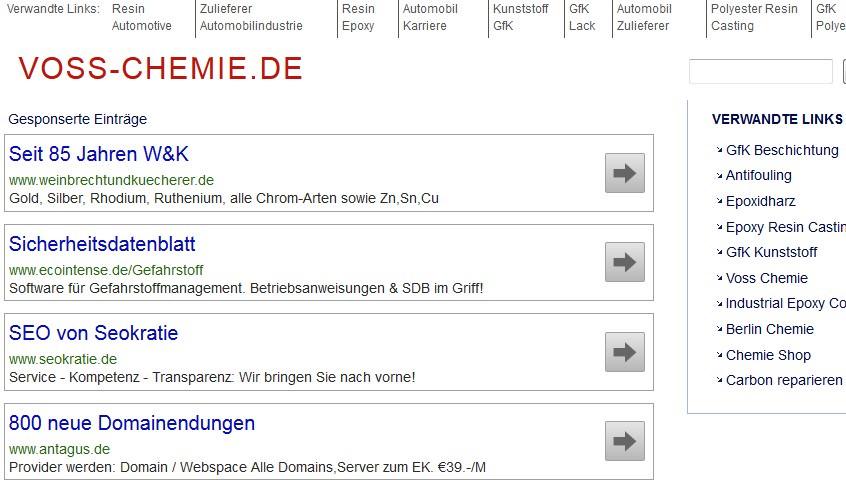Tippfehler-Domain, Typo, Hoerfehler